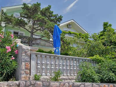 Photo for Apartment Christian DIRECT on the private beach with stunning sea views