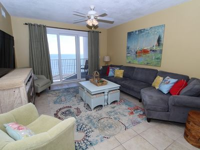 Photo for Windemere 702-Beach View From Terrace with Coastal Interior!