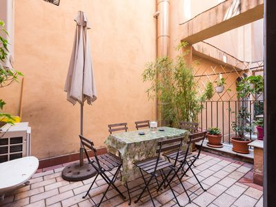 Photo for Apartment in the center of Rome with Internet, Air conditioning, Lift, Terrace (9745)