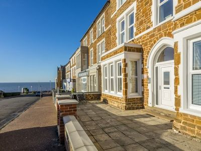 Photo for A refurbished ground floor apartment in a Victorian seaside villa in Hunstanton.
