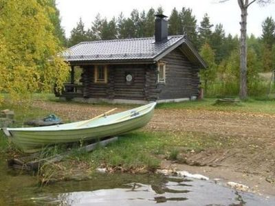 Photo for Vacation home Jussi-mökki in Punkaharju - 2 persons, 1 bedrooms