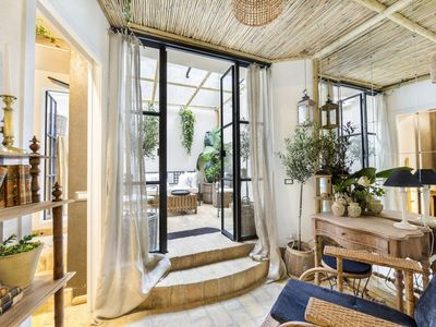 Photo for Trastevere Luxury&Charming Loft with Private Courtyard