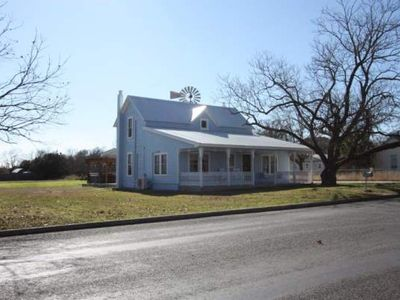 Photo for Kuhlman Haus - 4 bedrooms / 2 bath with private Hot Tub In town property on 1 acre of land
