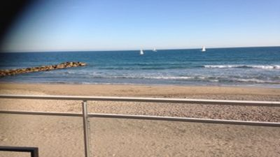 Photo for Holidays in the water on the beach in Palavas-les-Flots!