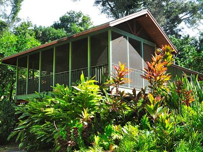 Photo for Romantic One Bedroom Tropical Hideaway, Halawa House