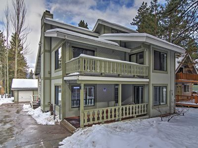 Photo for 4BR Big Bear Lake House w/ Jacuzzi & Fireplace!