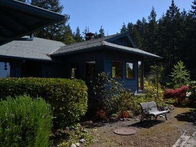 Photo for Hideaway Amongst Redwoods and Gardens Above Ocean in Gualala