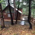 Izo's Inspiration Inn is a cozy chalet in Big Trees Village. Sleeps 8.