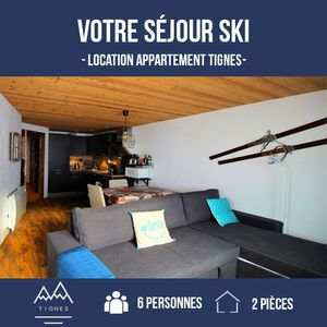 Photo for Tignes> 2 rooms / 2 room cabin> 6 people> Standard, WIFI