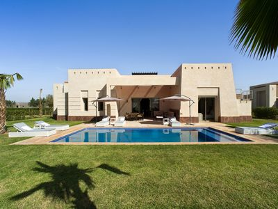 Photo for Luxury villa in the Marrakesh region with private pool and 3 master suites