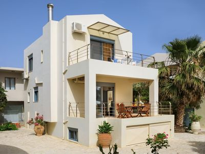 Photo for Beach villa in Almirida next to all amenities and the sandy beach