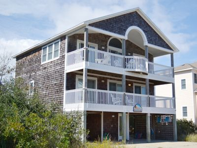 Photo for 6 BEDROOMS, PRIVATE POOL, HOT TUB, OCEAN VIEWS & JUST 400 FT TO BEACH ACCESS!