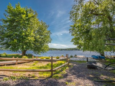 Photo for Spacious updated lakefront home with incredible views and personal dock/beach