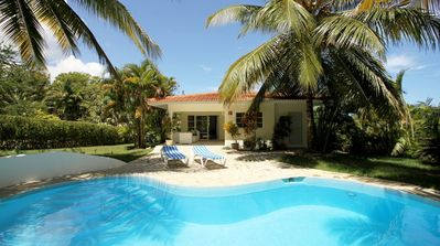 Photo for Kids-friendly 2BD villa in central Sosua, private pool, playground/sports courts