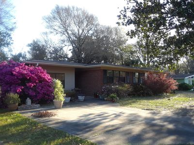 Photo for Charming ranch style home with a private patio in quiet neighborhood.
