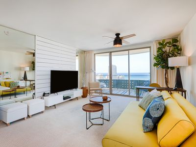 Photo for New! Spacious 2 bedroom unit for Lanikea at Waikiki. Free Wifi and Parking