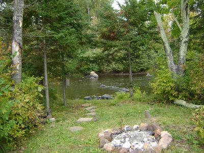 View of Flambeau River from Patio