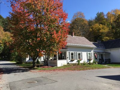 Photo for Classic 1865 farmhouse style home, renovated, in historic Stowe Village.