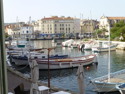 Photo for T1 in the historical and tourist center of Martigues.