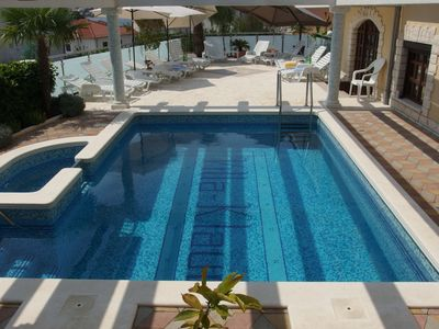 Photo for TOP apartment 6 people, pool, great sea views, luxury, ideal location, 3 bedrooms