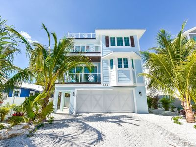 Photo for Ocean Breeze •7BR Home w/ Pool, Waterslide, and Rooftop Deck!