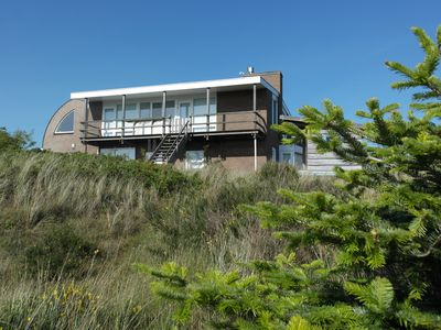 Photo for Meer Zicht, a modern villa with a panoramic view of the village and the sea