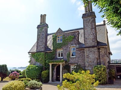 Photo for Beautiful Grade II Listed Manor House, Large Gardens, Sea Views and Parking