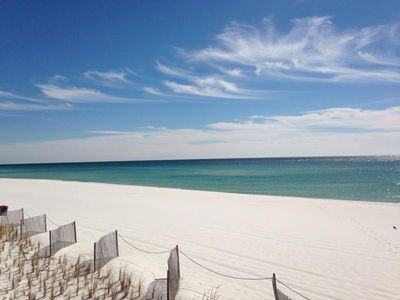 Unobstructed views from your 205 balcony-gorgeous sand as far as - Serenity and rest welcome you!!