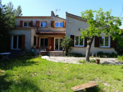 Photo for Quiet family house near the beaches, all shops and SNCF train station.