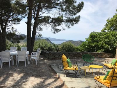 Photo for Old family house, magnificent views on the Saint Florent gulf, CORSICA,pool,wifi