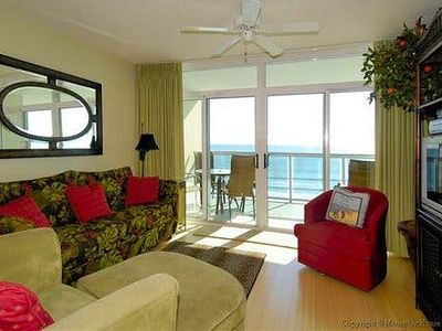 Photo for Bluewater Keyes 703, 3 Bedroom Beachfront Condo, Hot Tub and Free Wi-Fi!