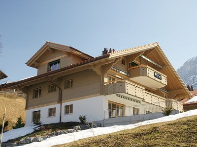 Photo for Exclusive holiday home with panoramic view to the Eiger Nordwand