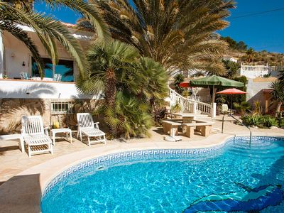 Photo for This 2-bedroom villa for up to 4 guests is located in Calpe and has a private swimming pool and Wi-F