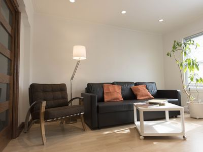 Photo for Charming and bright apartment all inclusive wifi / tv