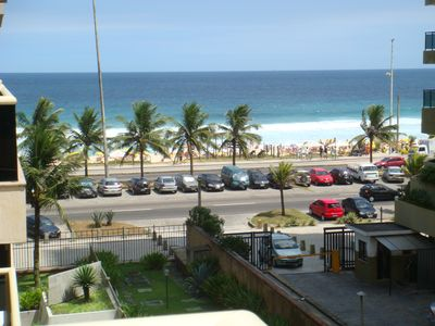 Photo for Fully furnished 2 bedroom apartment on Barra da Tijuca Beach with Wifi.