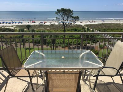 Photo for 505 Ocean One: Direct Oceanfront BY OWNER! Great Spring & Summer availabilities.