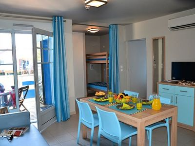 Photo for Residence Lagrange Holidays Grand Bleu Domaine La Grenadine *** - Villa 2/3 Rooms 4/6 People Cabin