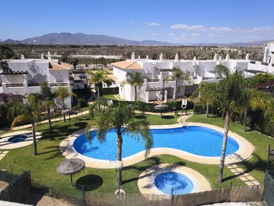 Photo for Andalucian appartement with 2 bedrooms with terrace - fully equipped with WIFI
