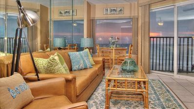 Photo for Cheery, Gulf View Gem on a Quiet Beach Minutes from Downtown Clearwater Beach!