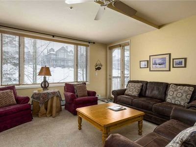 Photo for Fully Equipped Kitchen, Cozy Fireplace, Private Terrace & Winter Shuttles!