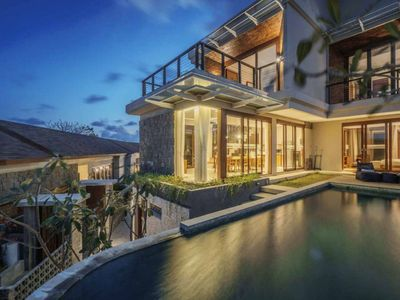 Photo for 3 Bedroom Secluded Villa with Ocean View in Nusa Dua, Car Included