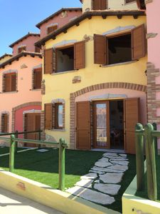 "Photo for at sea in a cottage holiday ""Villaggio Tanca Piras' - House Girasole"