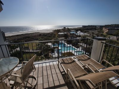 513 Sea Cloisters | OCEANFRONT | Private Complex Pool | FREE Bike & Beach Credit