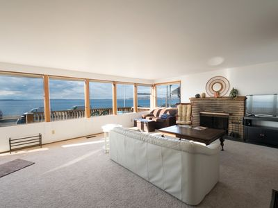 Photo for Classic 2 Bedroom Beach House on Alki Ave with amazing Puget Sound views!
