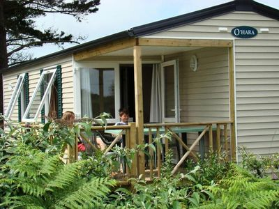 Photo for Camping Kerlaz *** - Mobile Home O'HARA 4 Rooms 6 People