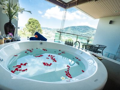 Photo for Family Penthouse Duplex 2 Bedroom Jacuzzi Sea View