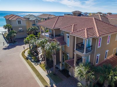 Photo for Gulf View Home in Destiny by the Sea with Pool and 1 Minute Walk to the Beach!