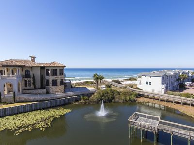 Photo for Santa Rosa Beach - GULF and POOL views - Pool & Fitness - 3 bedroom - WiFI