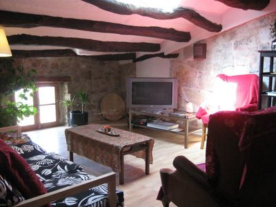 Photo for 3 bedroom Apartment, sleeps 3 in Forès with WiFi