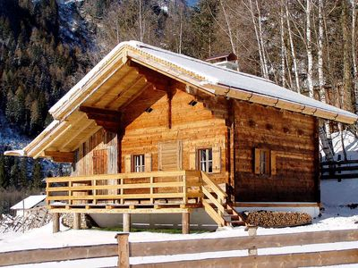 Photo for Nice chalet with sauna on the edge of the village Bucheben, in the beautiful valley of Hüttwinkl. T